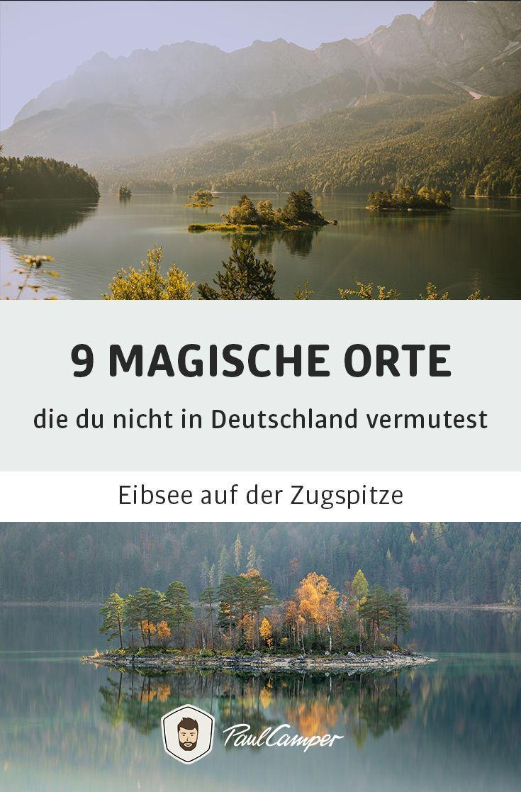 Außergewöhnliche Reiseziele Deutschland