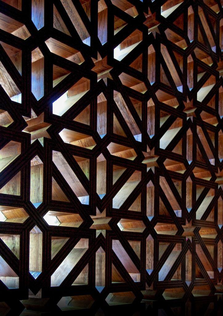 Arabesque Islamic Art On Fotopedia Pattern Pinterest - Carved wood lace like lighting design inspired islamic decoration patterns