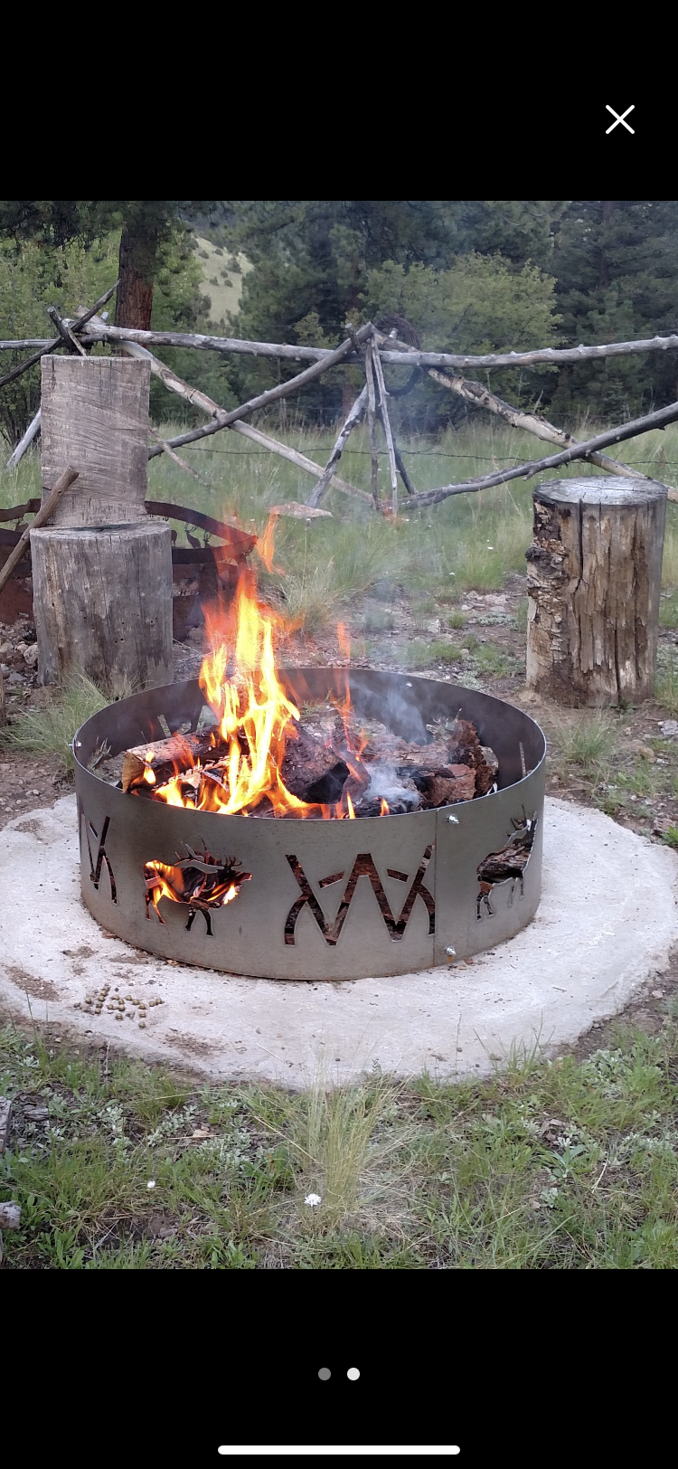 You Design Fire Ring Or Custom Fire Ring Customized Design Etsy Fire Ring Outdoor Fire Pit Ring