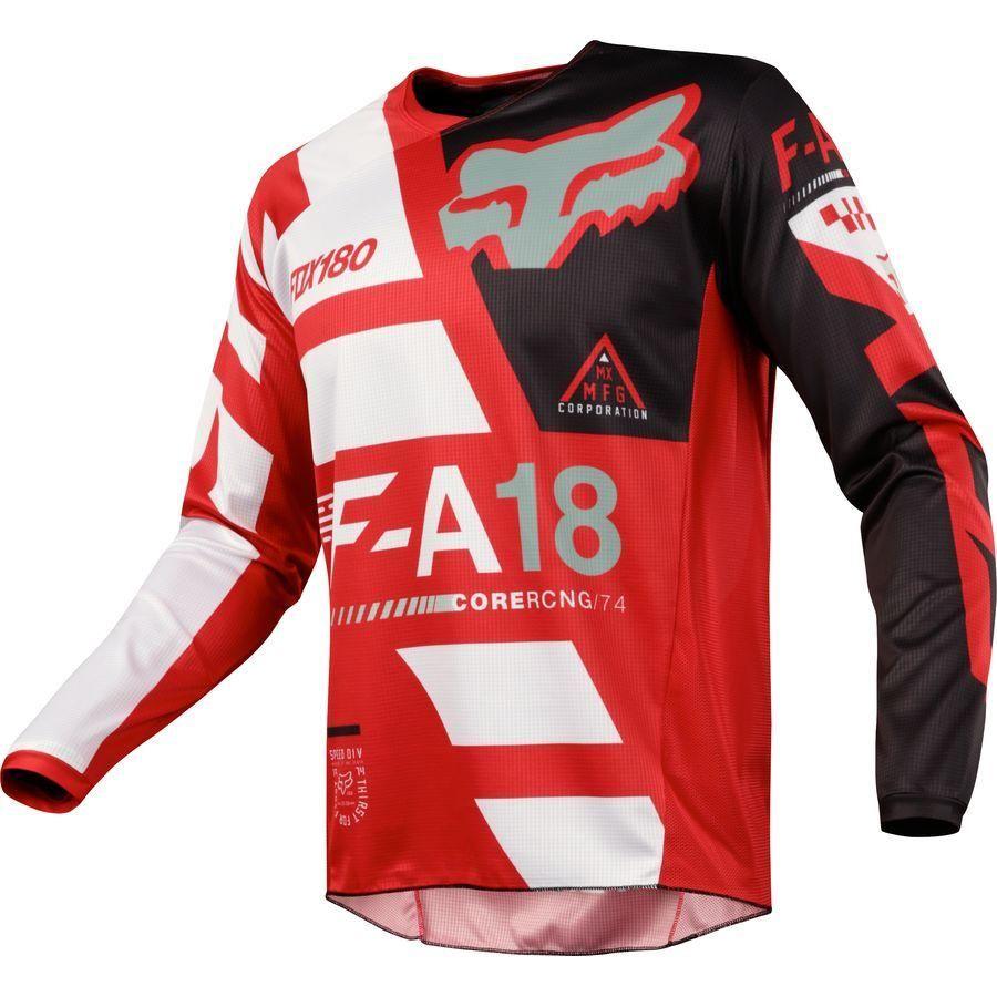 Fox racing 180 sayak jersey mx offroad jersey all colors