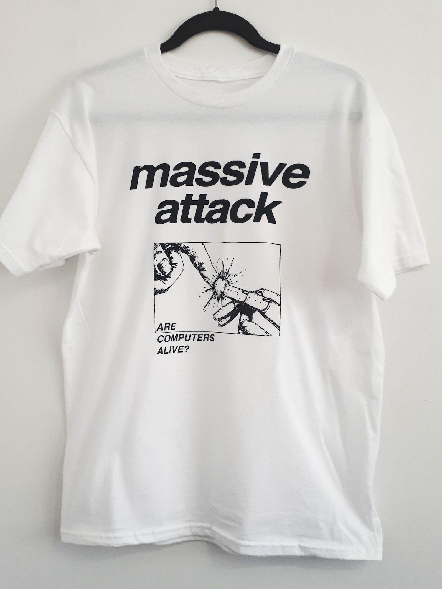MASSIVE ATTACK COTTON T-SHIRT