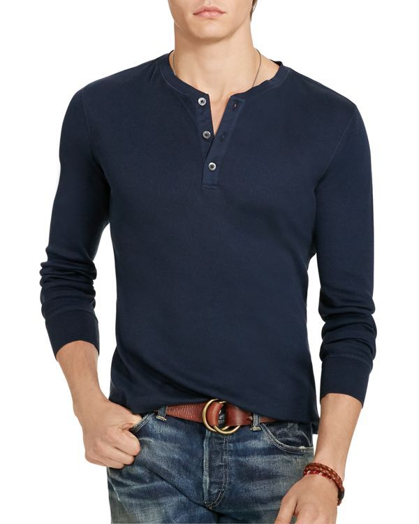 23093331a2f Polo Ralph Lauren Pima Cotton Jersey Henley Tee
