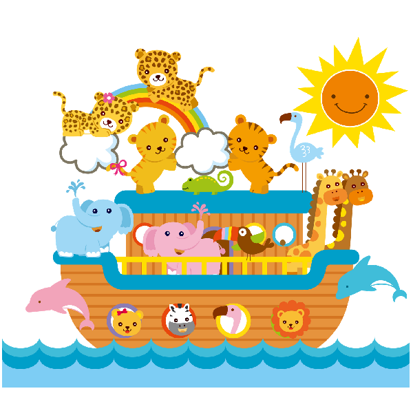 11+ Noahs ark animals free clipart ideas