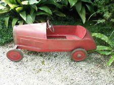 ancienne voiture a pedale jouet enfant tole rouge 1900 deco art jouets anciens pinterest. Black Bedroom Furniture Sets. Home Design Ideas