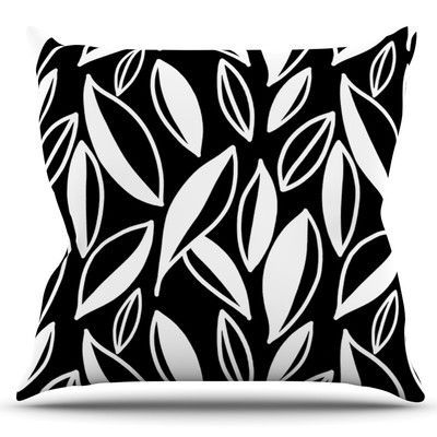 KESS InHouse Leaving by Emine Ortega Outdoor Throw Pillow Color:
