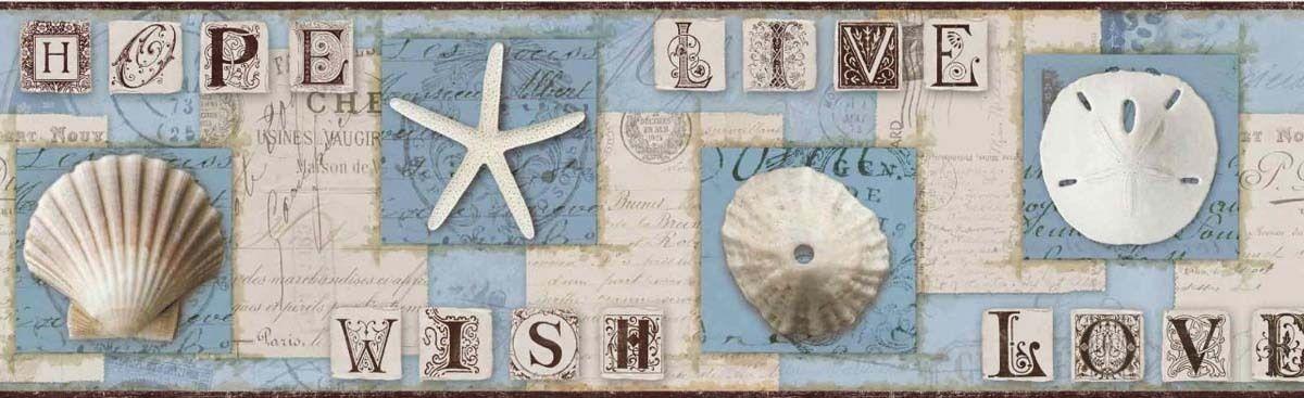 Light House Fp75434l Wallpaper Border Wallpaper Border Nautical