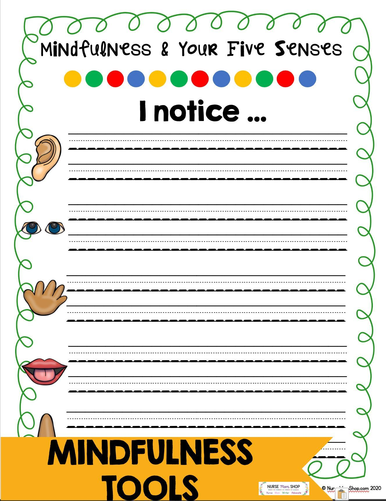 Mindfulness Journal A Social Emotional Learning Tool To