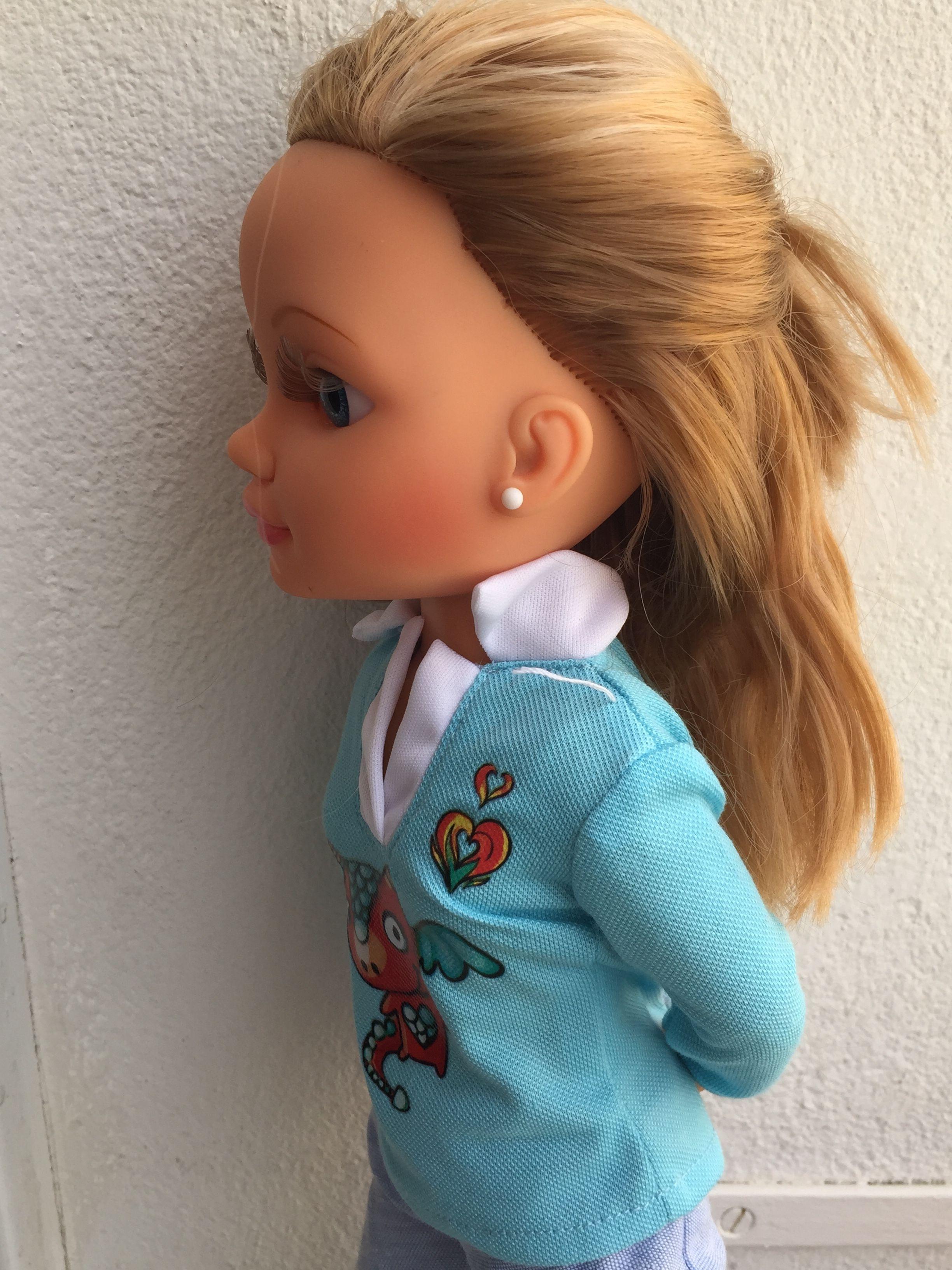Look en tonos azules. #Nancy #dolls #muñecas #poupées #juguetes #toys #bonecas #bambole