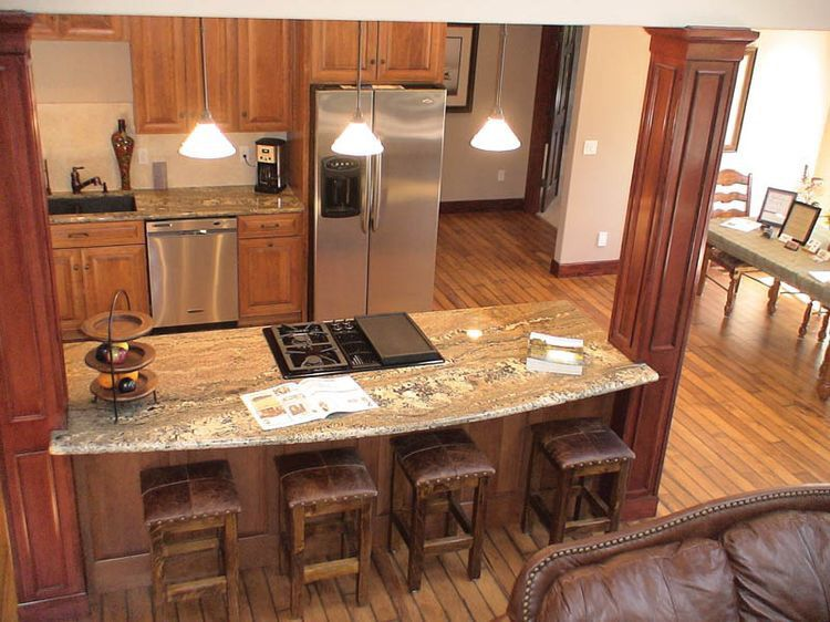 Open Kitchen Island open kitchen add island with existing load bearing wall | inside