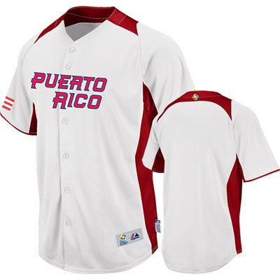 aeddf46ce5c Puerto Rico 2013 Baseball Jerseys