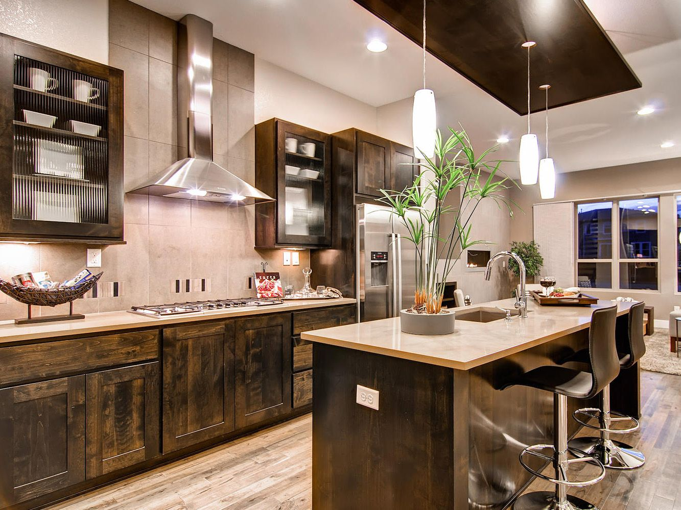 I'd Remodel My Kitchen  What I Would Do With $75000  Pinterest Impressive Design My Kitchen Layout Decorating Inspiration