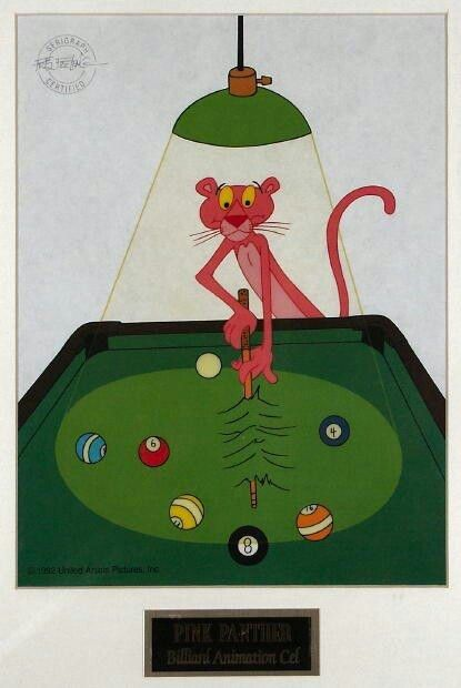 Pink Panther PoolOOPS POOL Is COOL Funny Images Pinterest - Panther pool table