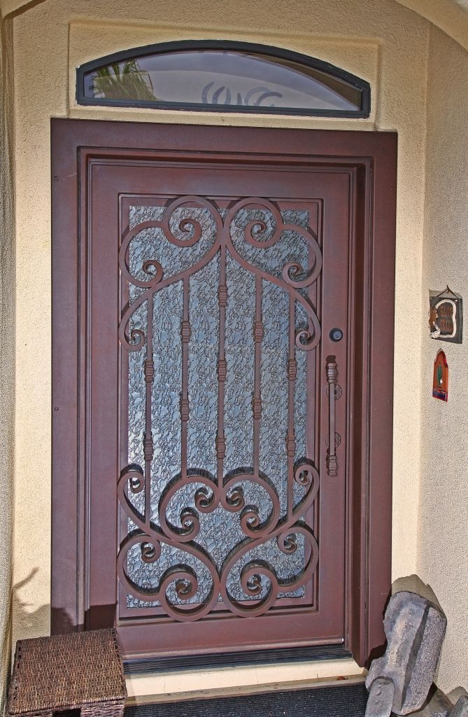 Verona Iron Entry Door - By First Impression Security Doors & Verona Iron Entry Door - By First Impression Security Doors | Verona ...