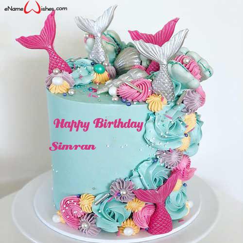 Birthday Cake with Name Editing Cake name