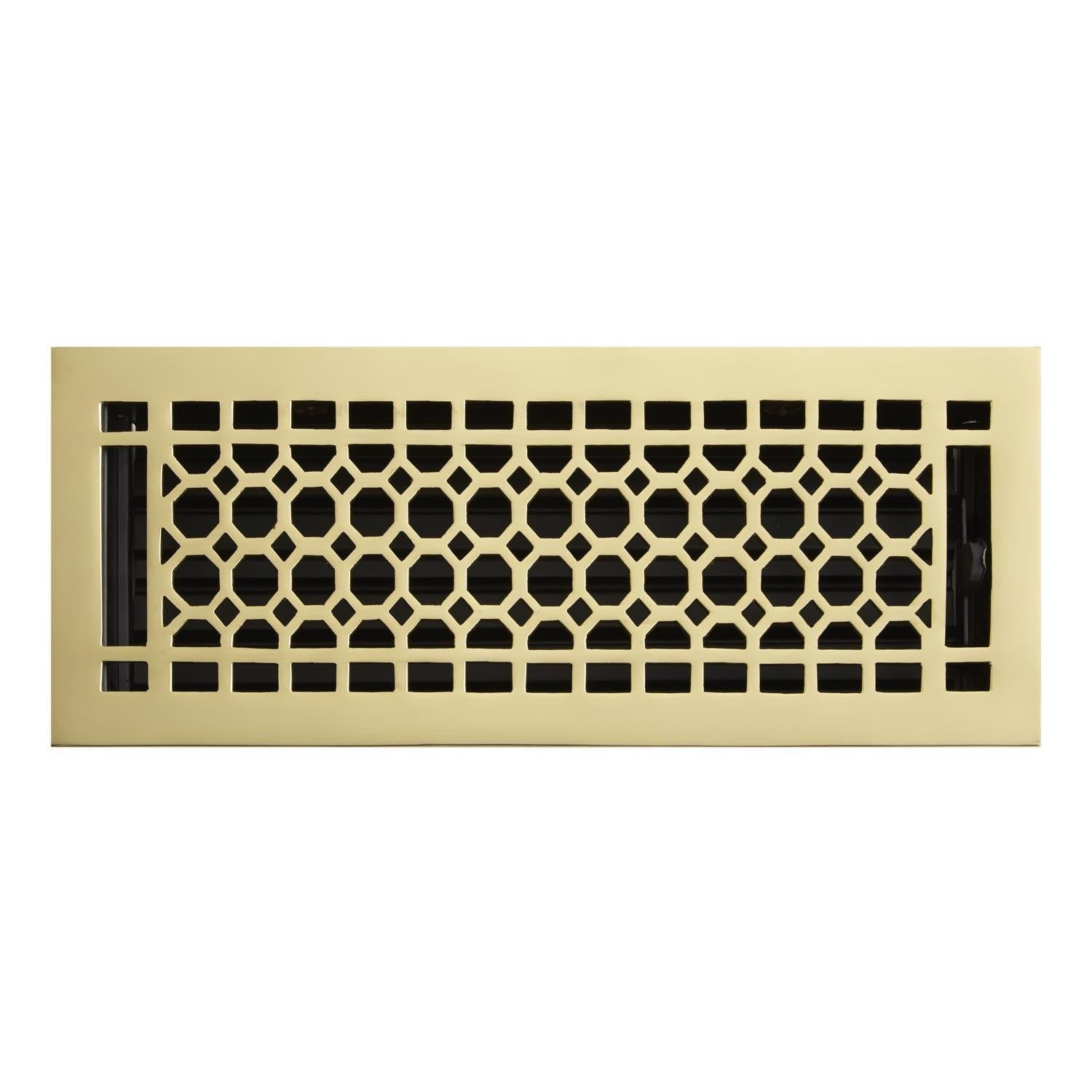 Honeycomb Brass Wall Register Floor Registers Wall Registers Flooring