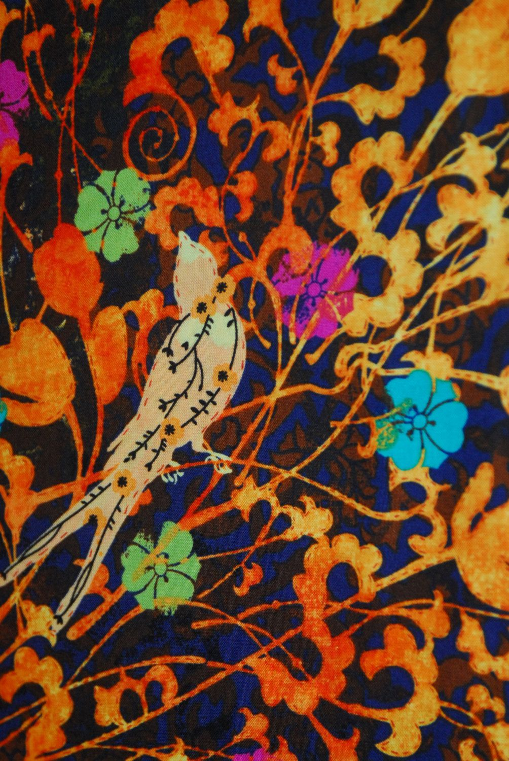 Sale 25 Off Evelai Main Fabric Birds Butterfly Flowers By Legacy
