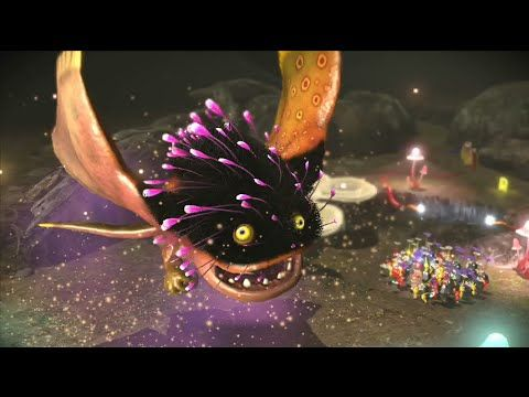 Pikmin 3 Boss Battle Vehemoth Phosbat Nintendo Wii U Nx Frezhor
