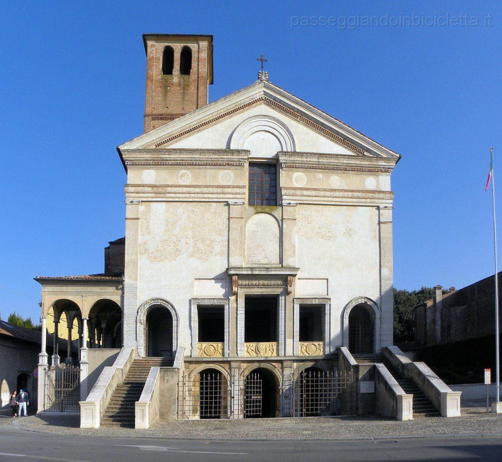 Leon battista alberti architetto facciata della chiesa di san sebastiano 1460 70 a mantova - Architetto mantova ...