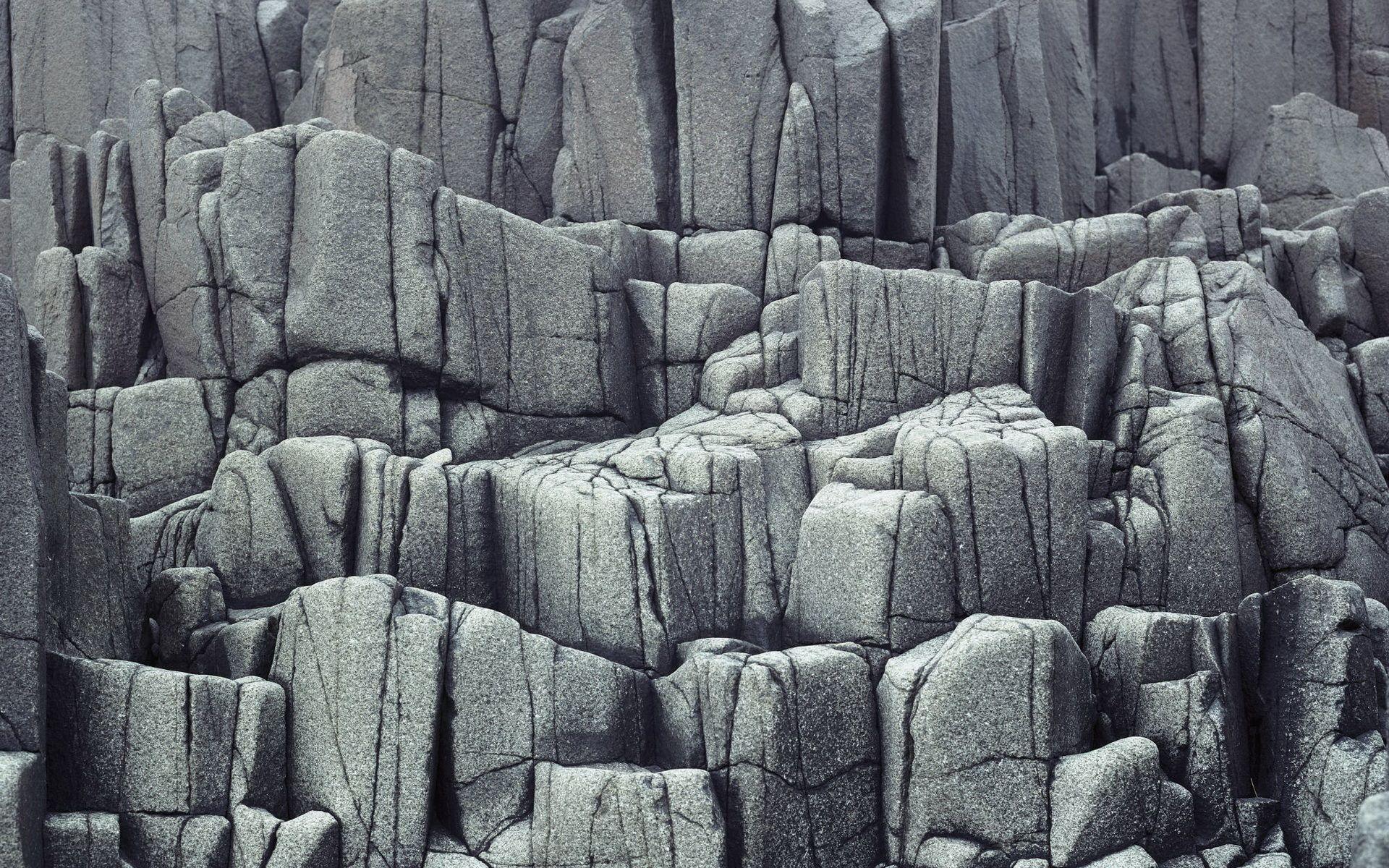 Columnar Basalt, Brier Island, Nova Scotia, Canada Similar