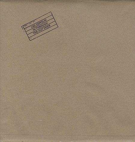 Led Zeppelin - In Through the Out Door . Hoes moest je met water bewerken om de kleuren te zien