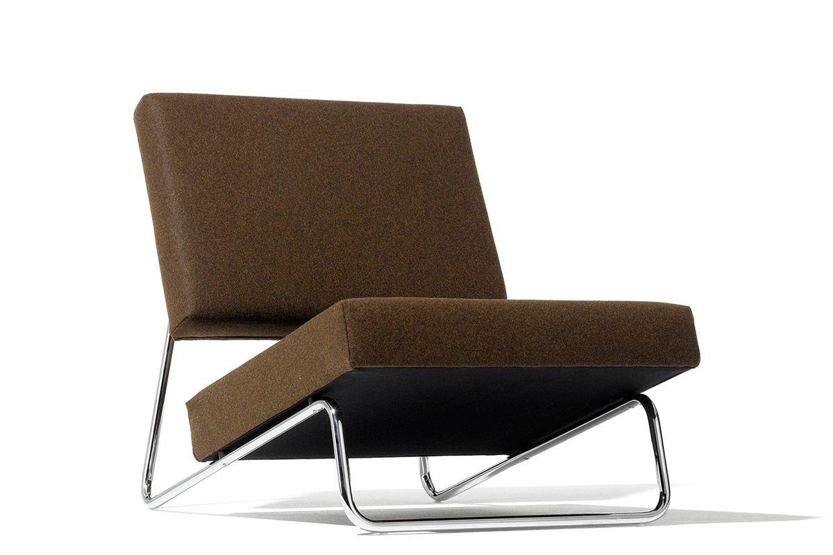 Herbert Hirche Lounge Chair 1953 Metal Lounge Chairs