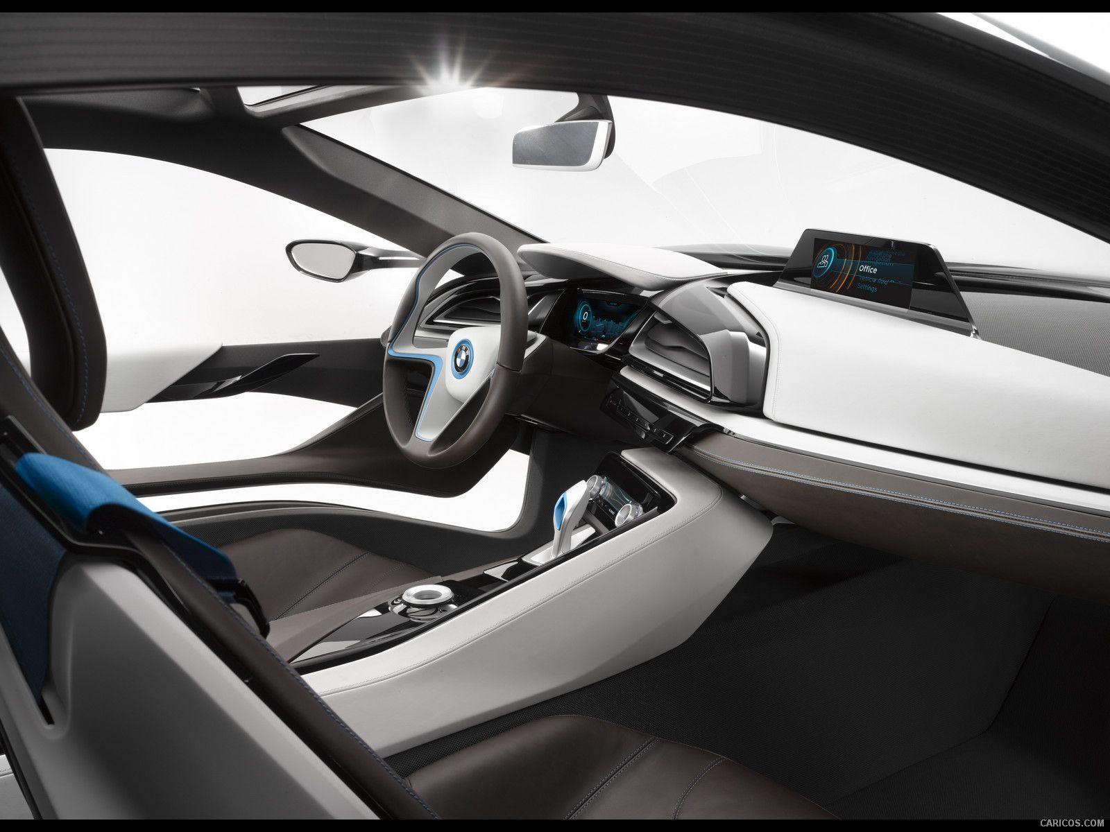 Cars interior designbmw i8car