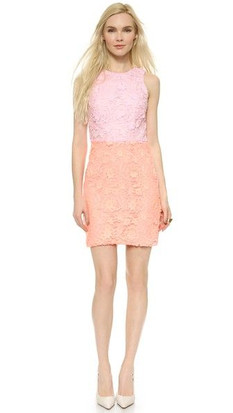 Cynthia Rowley Combo Lace Dress- Just bought this dress in a size 6. It fits perfectly and is so cute.