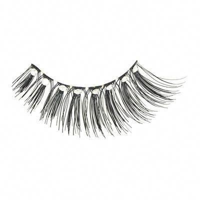 1f4564e486f Eldora D152 Real Hair Diamante Black Winged False Eyelashes #Eldora  #LashGoals #Eyelashes #FalseLashes #Lashes