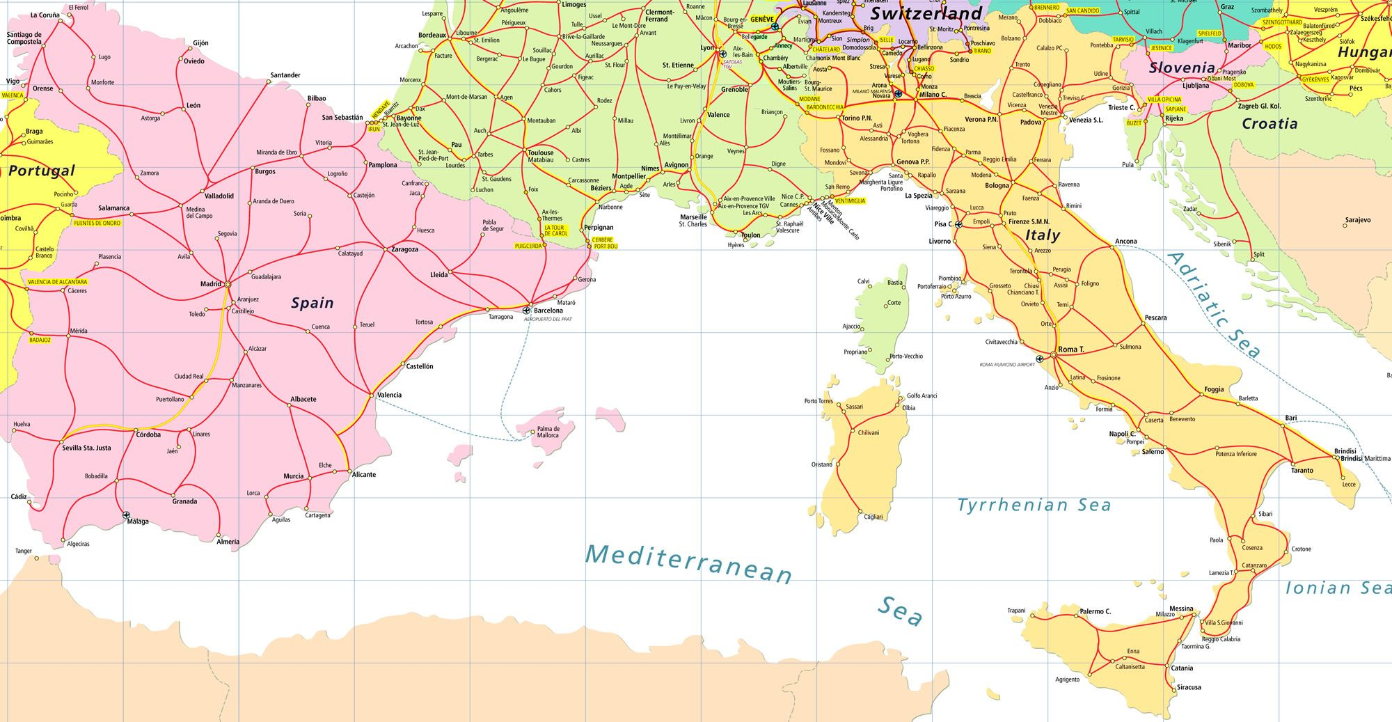 Map of italy and france world map of mages places to visit map of italy and france world map of mages gumiabroncs Image collections