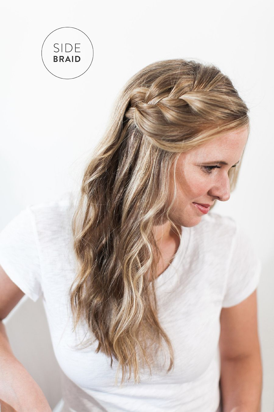 Bridal Beauty Side Braid With A Loose Twist Hair Styles Hair Beauty Hairdo