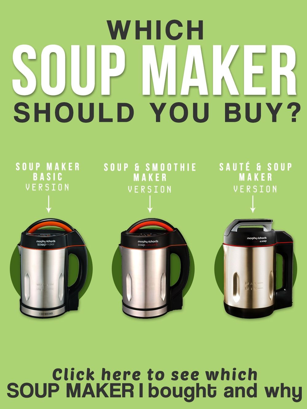 The Ultimate Guide To The Morphy Richards Soup Maker Soup Maker Morphy Richards Soup Maker Soup Maker Recipes See more related results for. pinterest