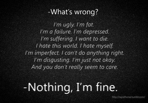 depressed quotes life