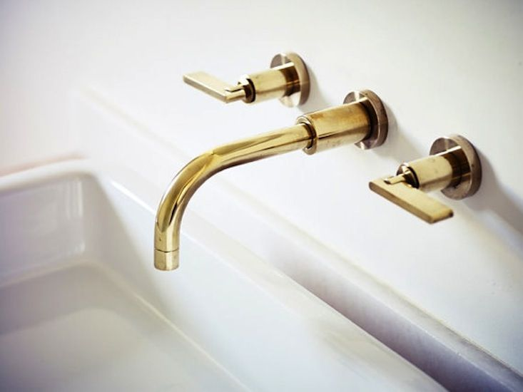 large in bathroom handles unlacquered brass products with faucet waterworks henry portoro lever