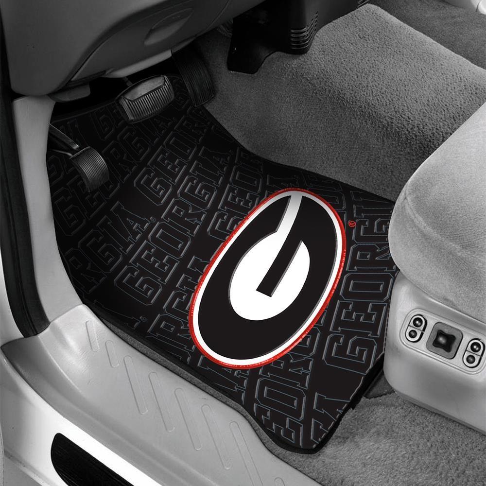 Georgia Car Front Floor Mat Fan Gear And Apparel Ocm Com College Sports Apparel Car Front Sport Outfits
