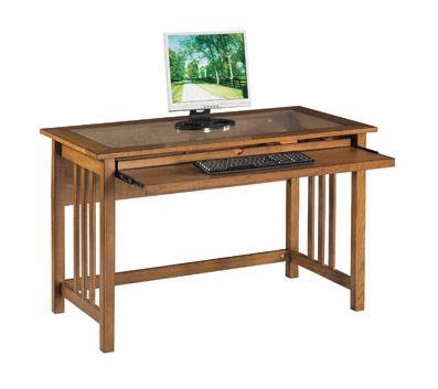 Site Maintenance Furniture Desk Glass Top Desk