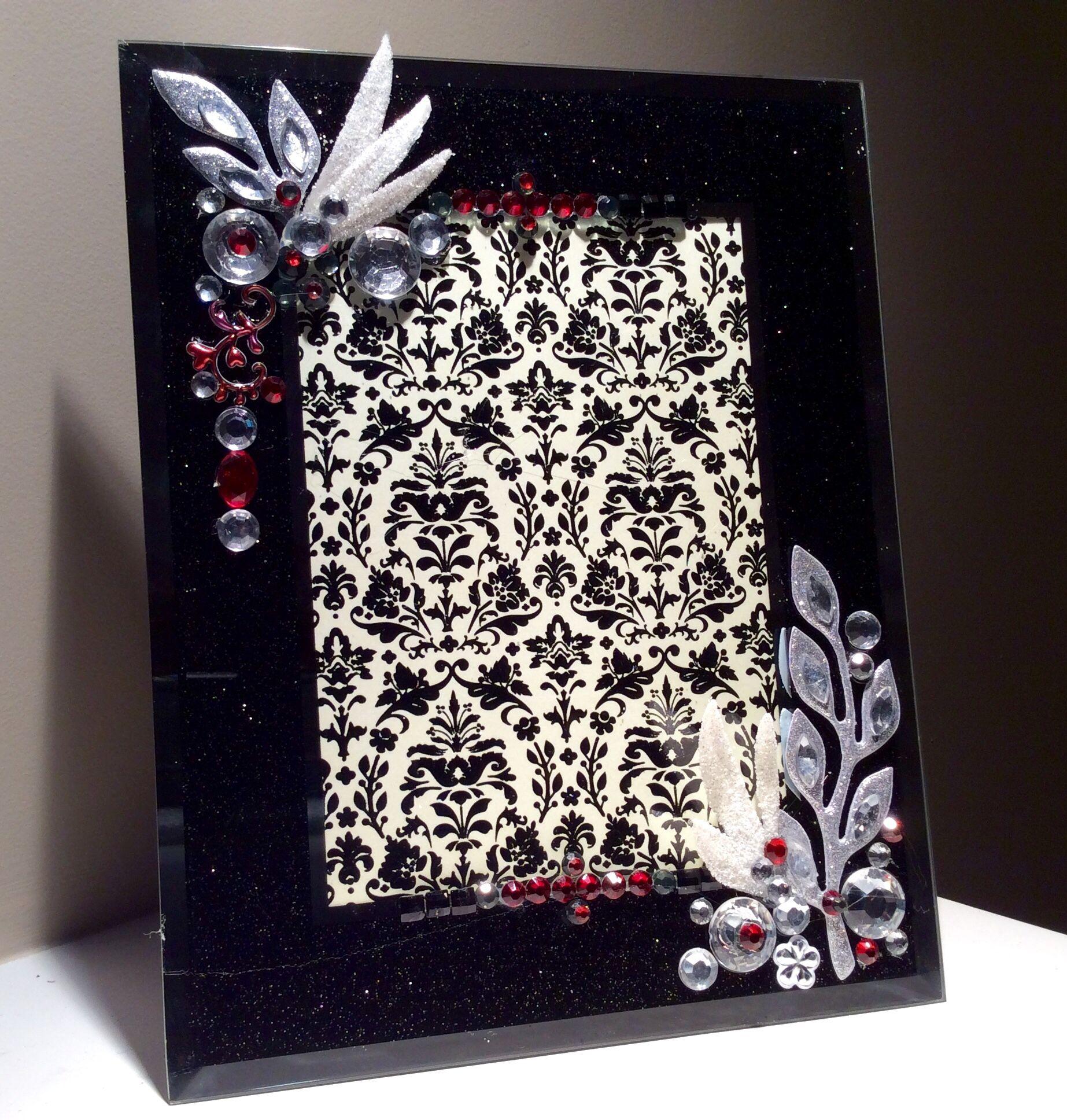 Handmade Picture Frame | Malyna-Bohemian Chic | Pinterest