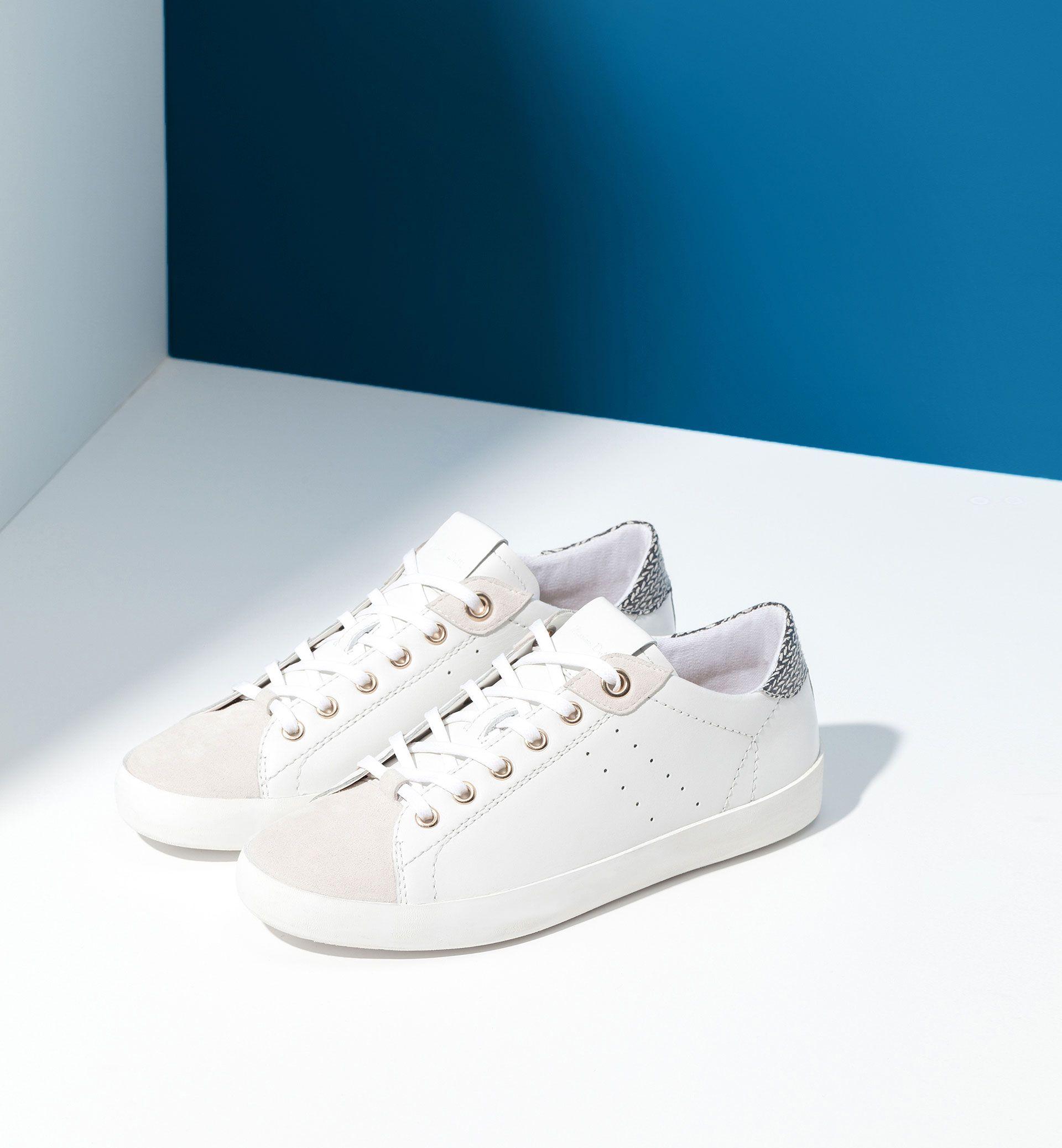 02d0970003787 CONTRAST PLIMSOLLS - Shoes - WOMEN - Ukraine - Massimo Dutti ...