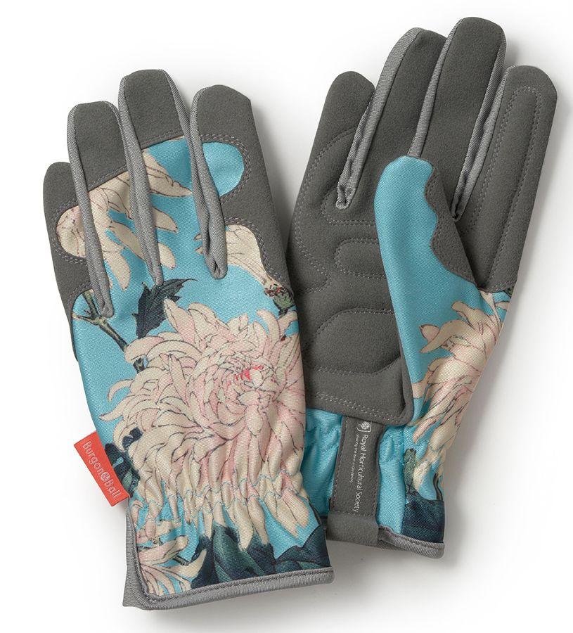 Burgon & Ball - RHS Gardening Gloves - Chrysanthemum - Natural Living £10.46