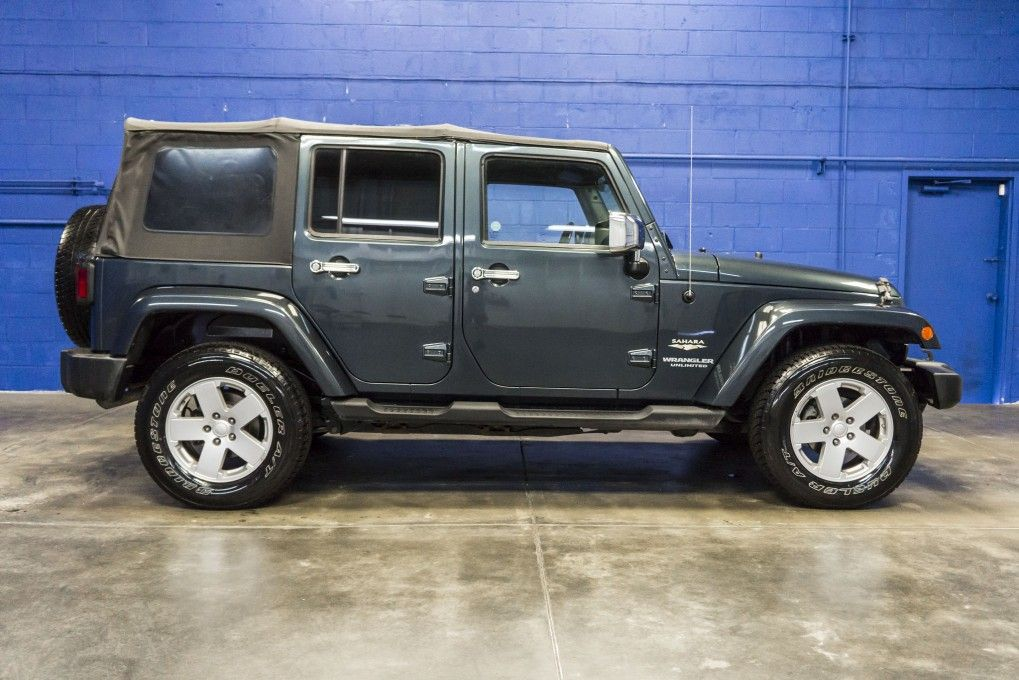 2008 Jeep Wrangler Sahara Unlimited 4x4 Manual Soft Top For Sale