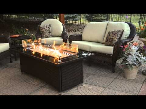 Montego Gas Fire Pit Table You