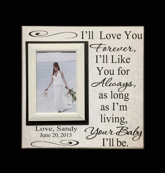 Wedding Frame For Mom Wedding Thank You Gift From By