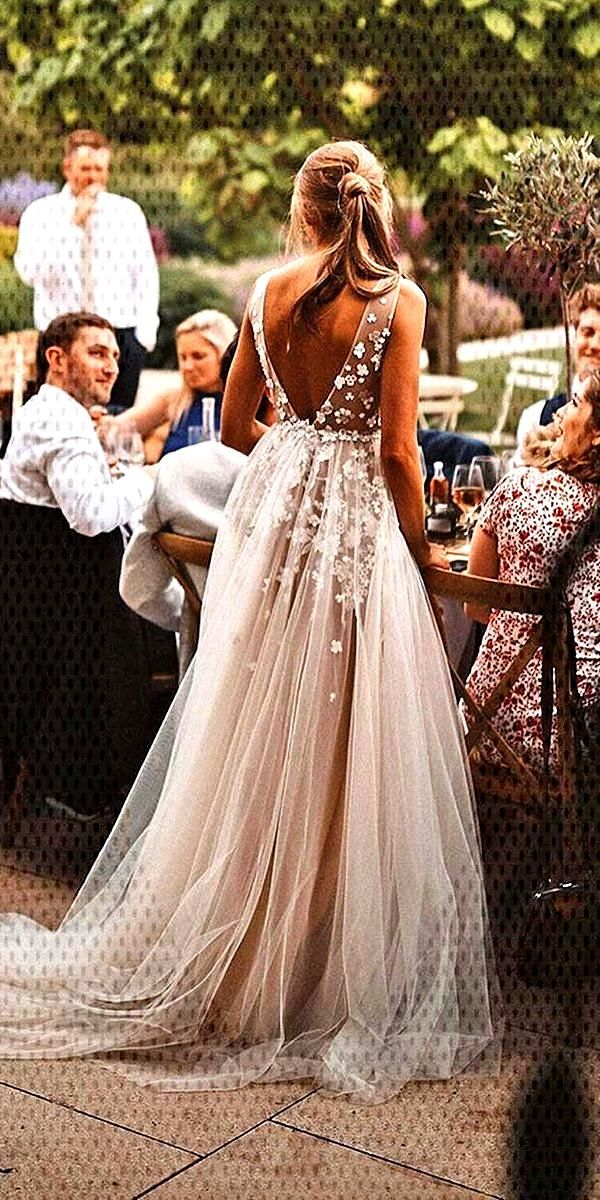 A-Line Wedding Dresses 2020/2021 Collections Overview 36 Gorgeou... -  A-Line Wedding Dresses 2020/