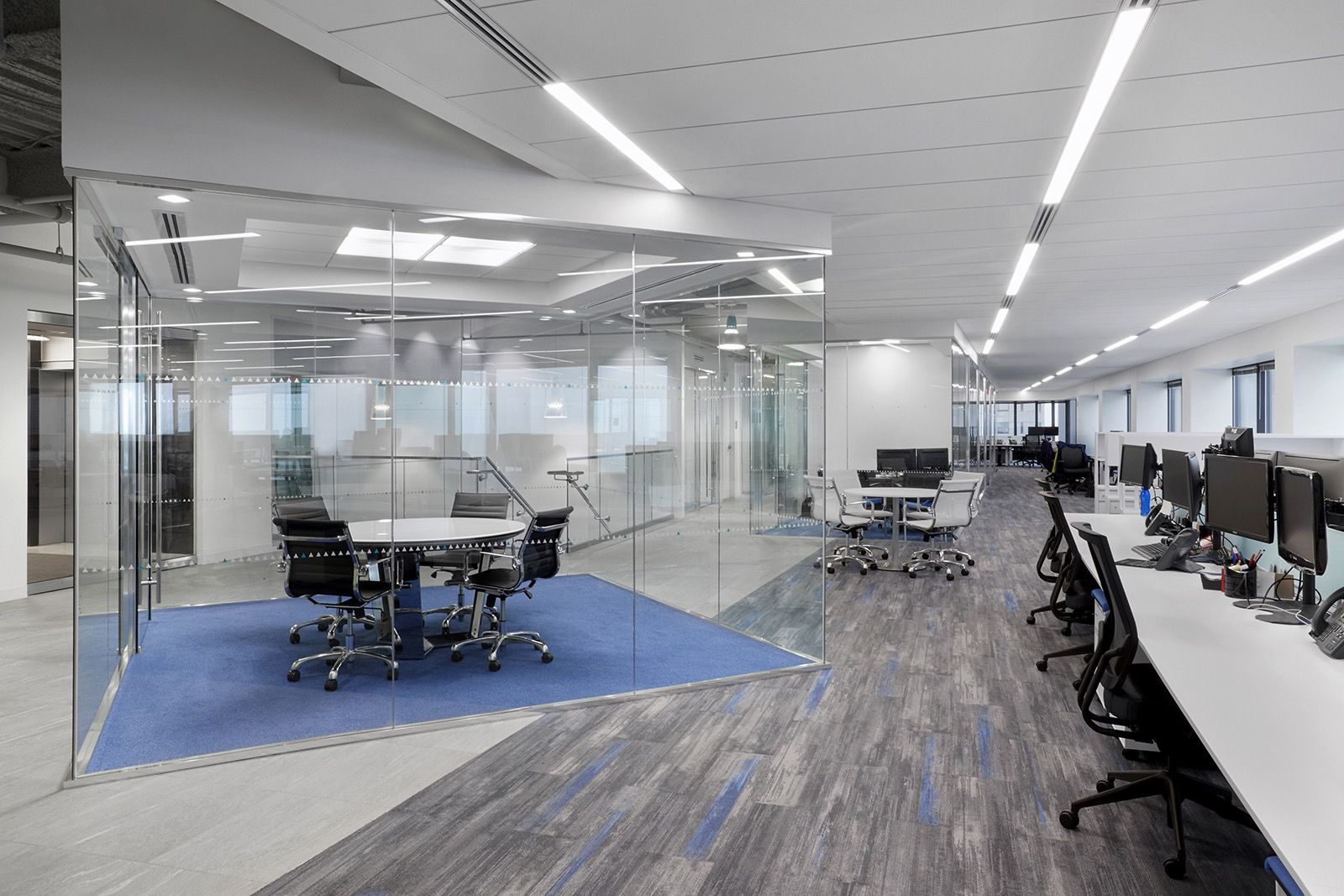 Marvelous Inside Marcum LLPu0027s Sleek New Boston Office