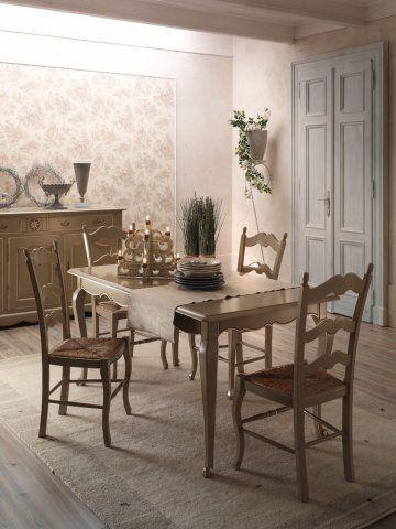 Perfetto tavolo rettangolare stile provenzale per arredare la tua casa con mobili decapati - Mobili soggiorno stile provenzale ...