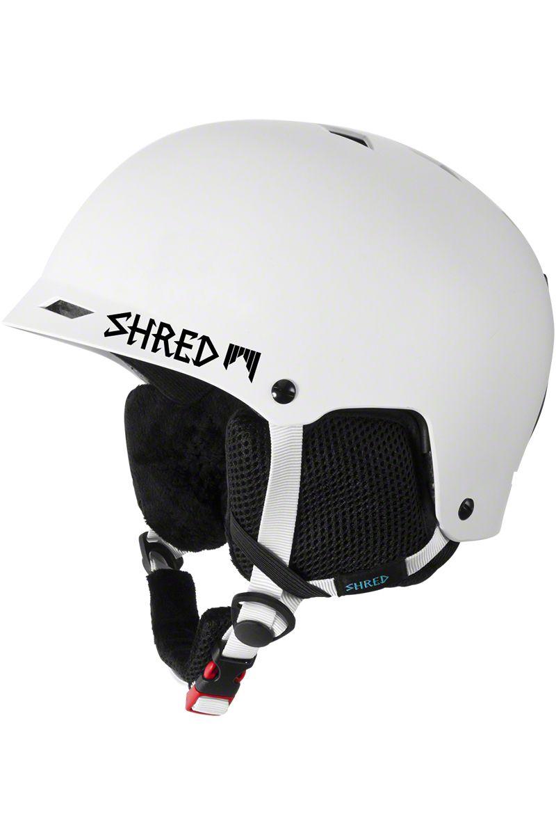 Shred Half Brain Race Helmet B Line White Helmet Racing B Line