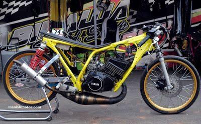 contoh modifikasi motor king drag
