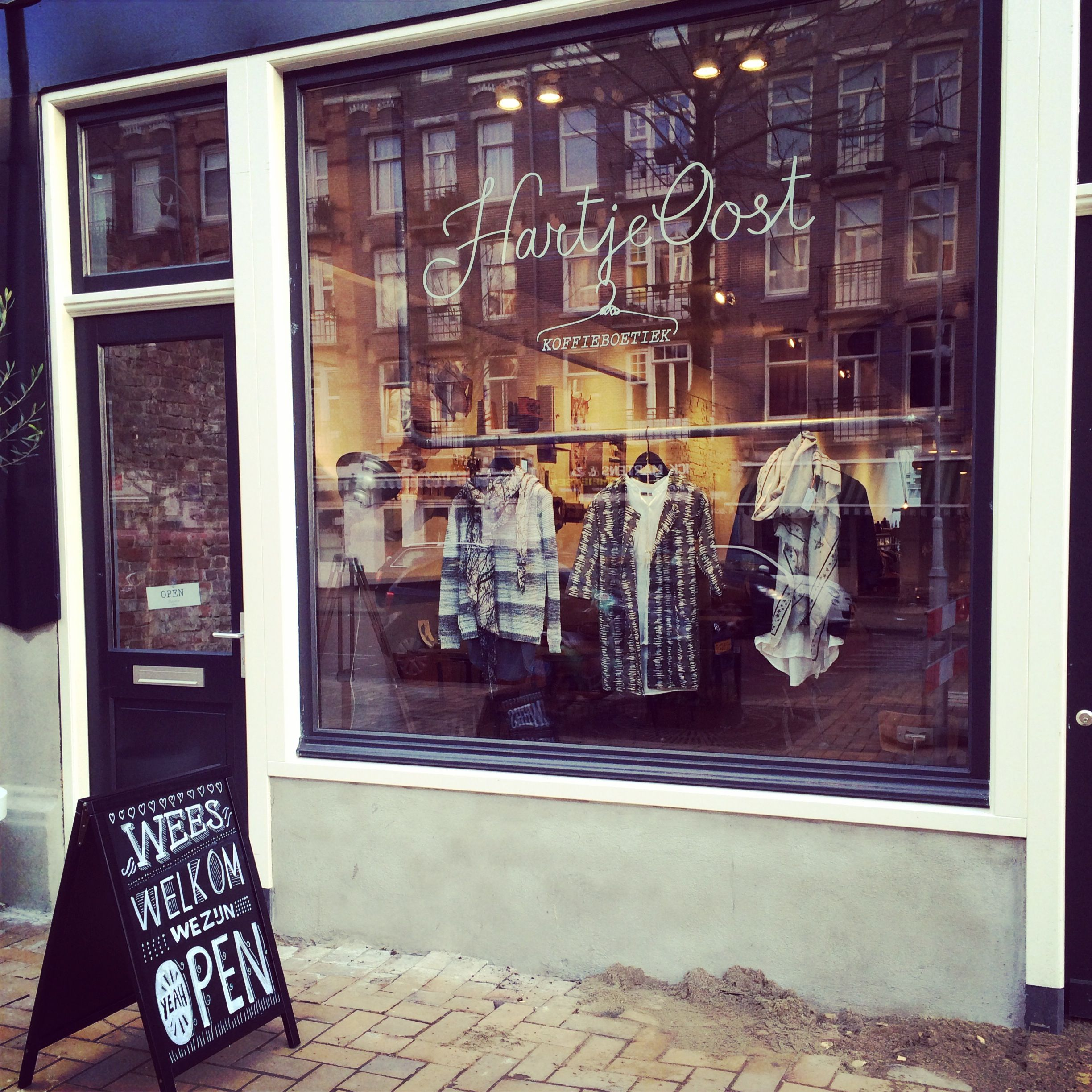 New New New! Hartje Oost | Coffee Boutique / Concept store ...