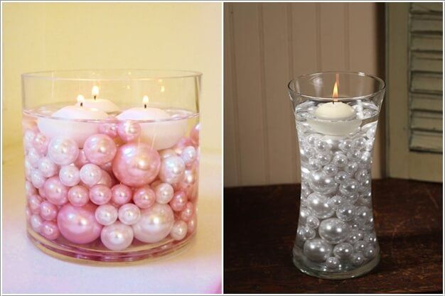 Vase Fillers Beads As Clear Vase Fillers Mardi Gras Bead Crafts
