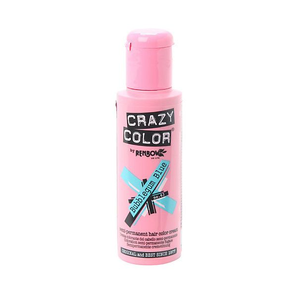 Crazy Color Bubblegum Blue Semi Permanent Hair Dye Hot Topic 14