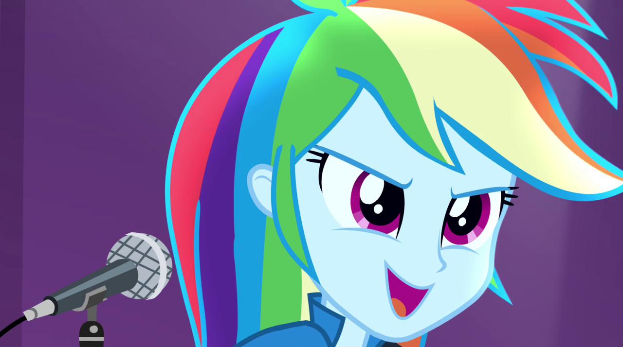 Rainbow Dash Singing Shake Your Tail Eg2 Png Rainbow Dash Dash Rainbow